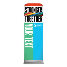 BTCS Stronger Together Your Text