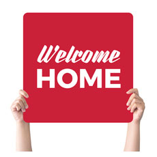 Red Welcome Home